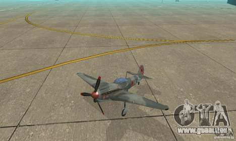 L'yak-9 en livrée, Sébastopol pour GTA San Andreas