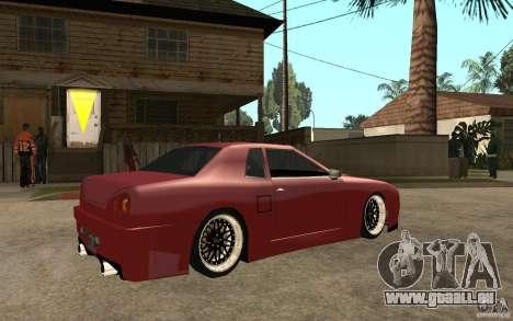 Elegy Modified für GTA San Andreas rechten Ansicht