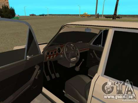 VAZ 2106 West Stil für GTA San Andreas Rückansicht