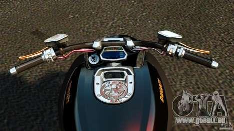 Ducati Diavel Carbon 2011 für GTA 4 Rückansicht