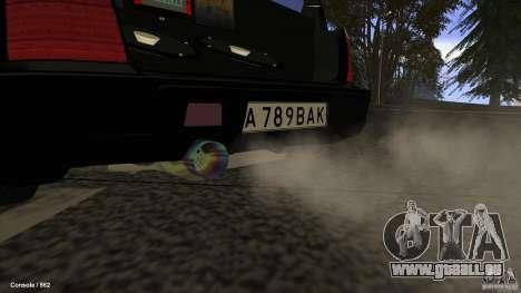 Subaru Forester Turbo 1998 pour GTA San Andreas laissé vue