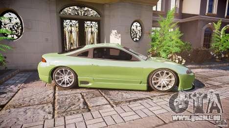 Mitsubishi Eclipse pour GTA 4 Vue arrière