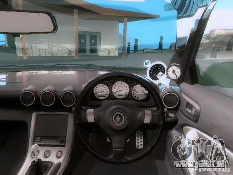 Nissan Silvia S15 drift für GTA San Andreas Rückansicht