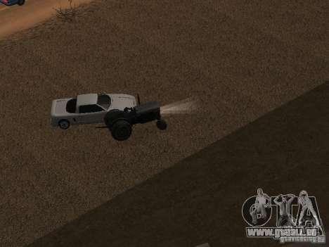 Accélération pour GTA San Andreas quatrième écran