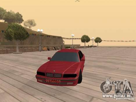 BMW 750iL e38 Diplomat für GTA San Andreas