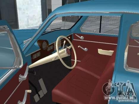 Moskvich 403 für GTA San Andreas Rückansicht