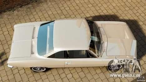 Chevrolet Corvair Monza 1969 für GTA 4 rechte Ansicht