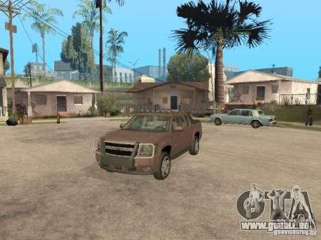 Chevrolet Avalanche pour GTA San Andreas