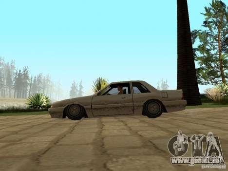 Suspension pneumatique pour GTA San Andreas troisième écran