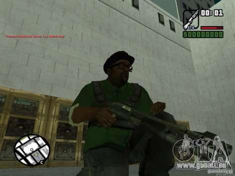 Black Weapon by ForT pour GTA San Andreas deuxième écran