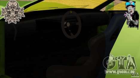 Buffalo Edited by ZveR pour GTA San Andreas sur la vue arrière gauche
