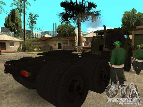 MAZ 515V für GTA San Andreas rechten Ansicht