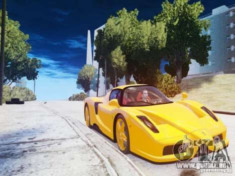 Ferrari Enzo 2002 pour GTA 4 Vue arrière