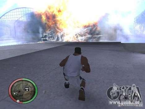 Dynamite MOD pour GTA San Andreas cinquième écran
