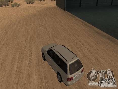 Volkswagen Passat B4 pour GTA San Andreas sur la vue arrière gauche