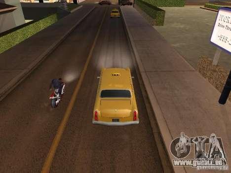 Moto saut dans ma voiture pour GTA San Andreas deuxième écran
