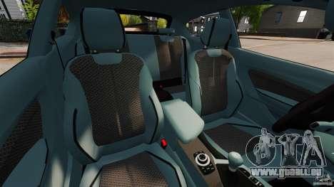 BMW 135i M-Power 2013 für GTA 4 Innenansicht