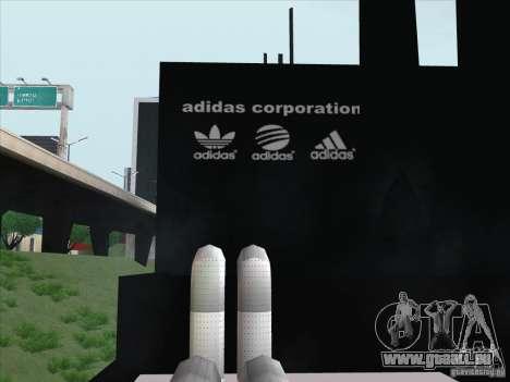 Adidas nouveau pour GTA San Andreas troisième écran