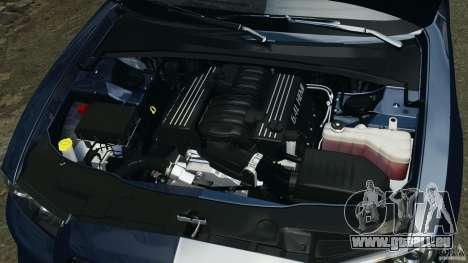 Dodge Charger SRT8 2012 v2.0 pour GTA 4 vue de dessus