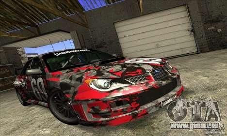 Subaru Impreza WRX STi Gymkhana für GTA San Andreas
