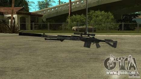 EBR MK14 avec un silencieux pour GTA San Andreas