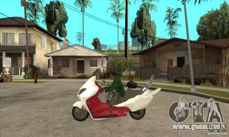 Honda Forza pour GTA San Andreas laissé vue
