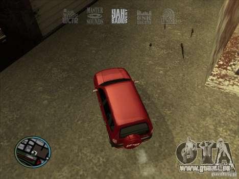 RADIO HUD IV 3.0 pour GTA San Andreas deuxième écran