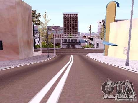 New Roads pour GTA San Andreas troisième écran