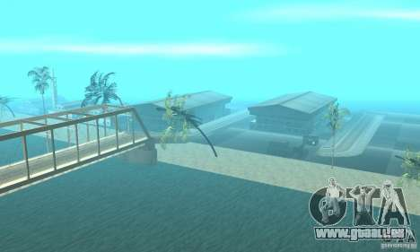 New Island pour GTA San Andreas