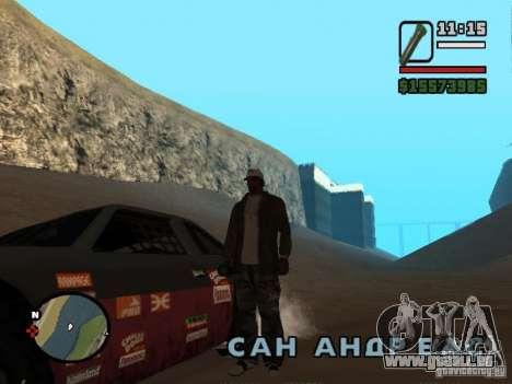 Il n'y a pas d'eau pour GTA San Andreas troisième écran