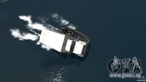 Benson boat für GTA 4 rechte Ansicht
