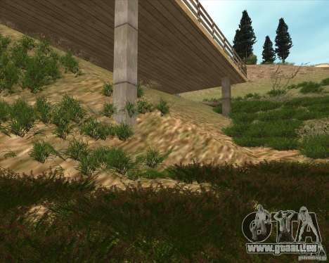 Grass form Sniper Ghost Warrior 2 pour GTA San Andreas