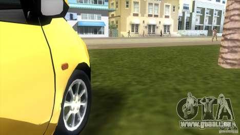 Renault Twingo für GTA Vice City Rückansicht