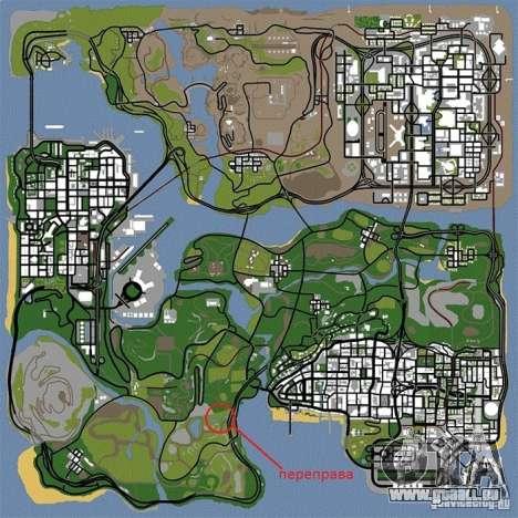 Kreuzung v1. 0 für GTA San Andreas achten Screenshot