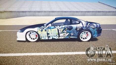 Nissan Silvia S15 Drift v1.1 pour GTA 4 Vue arrière de la gauche