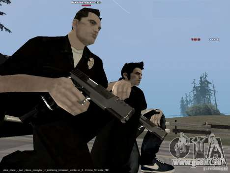 Black & White guns für GTA San Andreas her Screenshot