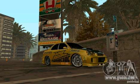 NFS Most Wanted - Paradise pour GTA San Andreas