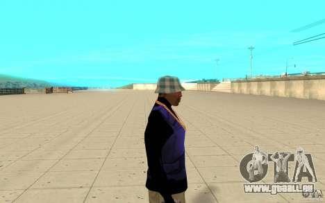 Bronik peau 1 pour GTA San Andreas deuxième écran