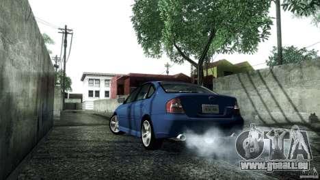 Subaru Legacy B4 3.0R specB für GTA San Andreas rechten Ansicht