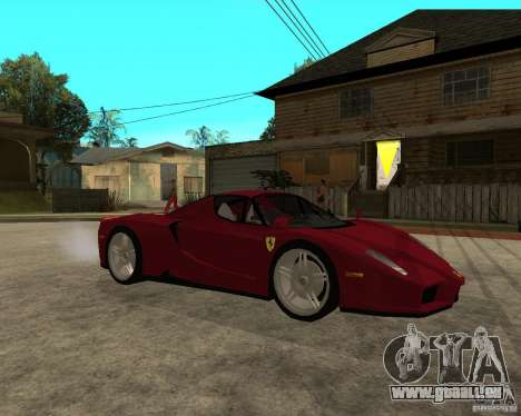 Ferrari ENZO 2003 v.2 final pour GTA San Andreas vue de droite