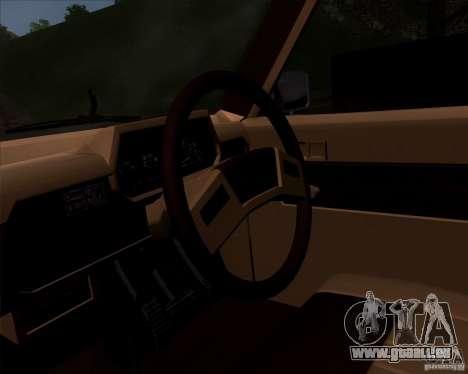Toyota Truck RN30 pour GTA San Andreas vue de droite