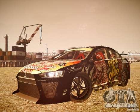 Mitsubishi Lancer Evo X Ryo King pour GTA 4