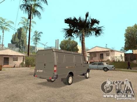 Gazelle 2705 en 1994. pour GTA San Andreas vue de droite