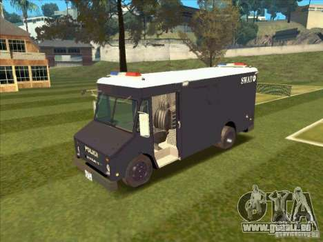 Swat Van from L.A. Police für GTA San Andreas linke Ansicht
