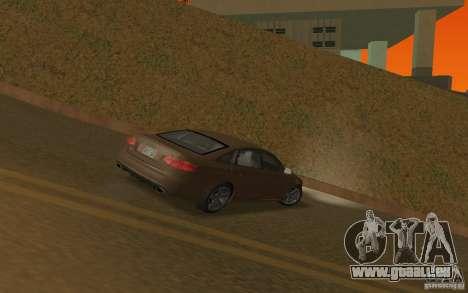 Audi RS6 TT Black Revel für GTA San Andreas rechten Ansicht