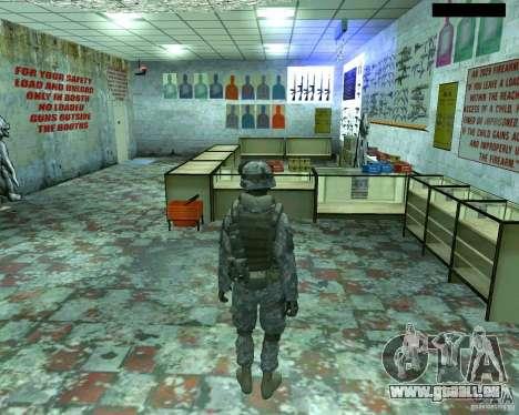 Haut Infanterist CoD MW 2 für GTA San Andreas dritten Screenshot