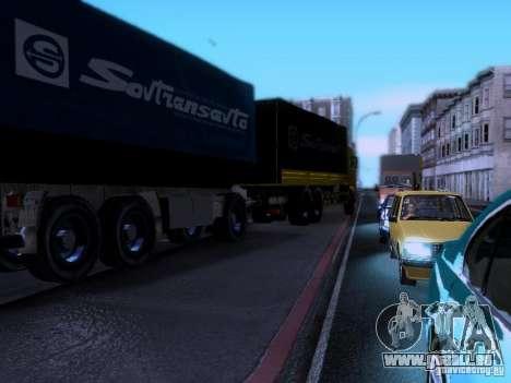 KAMAZ 62177 pour GTA San Andreas vue intérieure