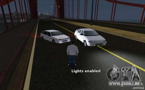 Remote lock car v3.6 für GTA San Andreas