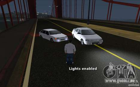Remote lock car v3.6 pour GTA San Andreas
