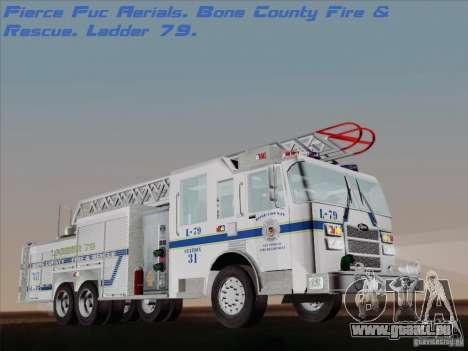 Pierce Puc Aerials. Bone County Fire & Ladder 79 für GTA San Andreas